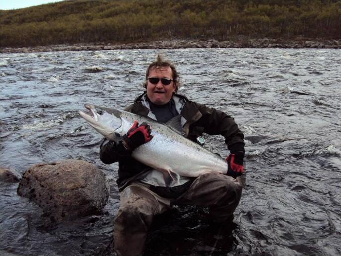 рыбалка на Кольском, реке Йоканьга, палаточный лагерь Йоканьга.