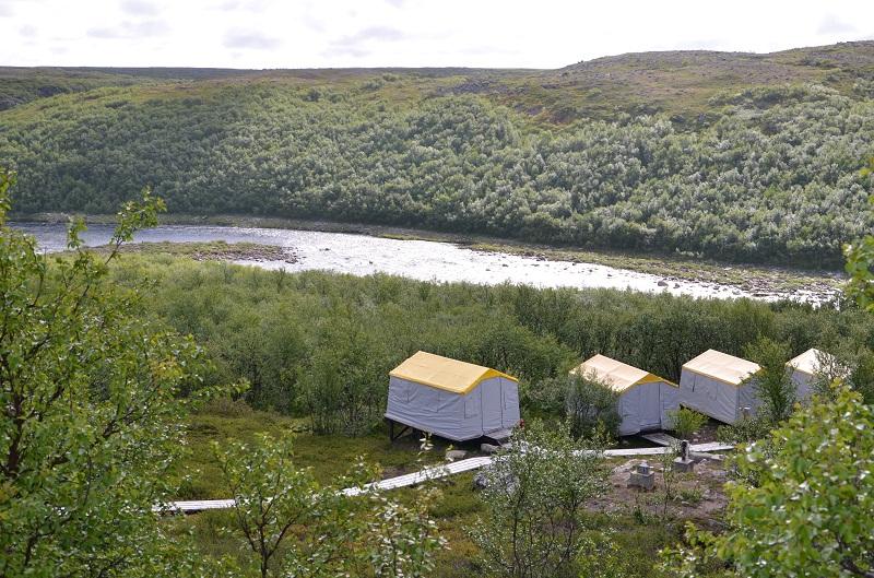 йоканьга палаточный лагерь