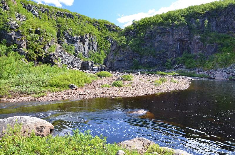 приток йоканьги река Пулоньга