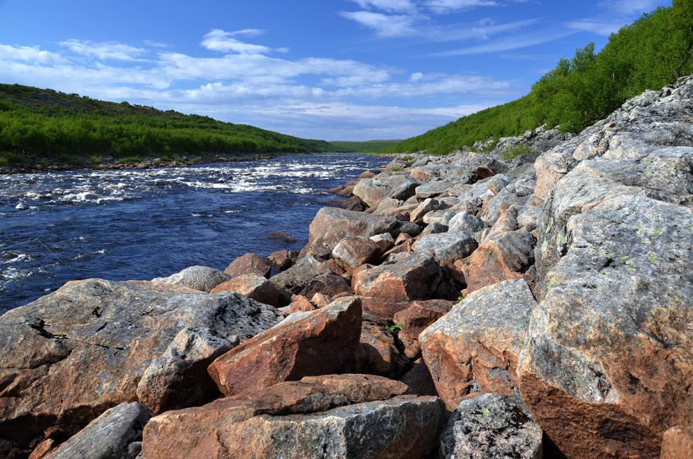 река Йоканьга 2013-2