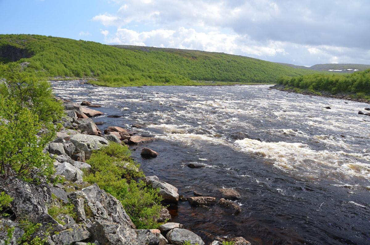 река Йоканьга 2013-4