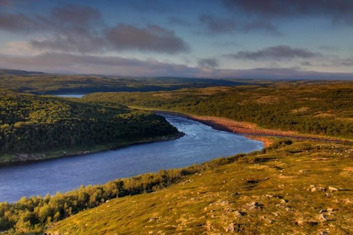 река Йоканьга