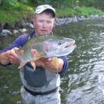 рыбалка на Камчатке. реке Жупанова