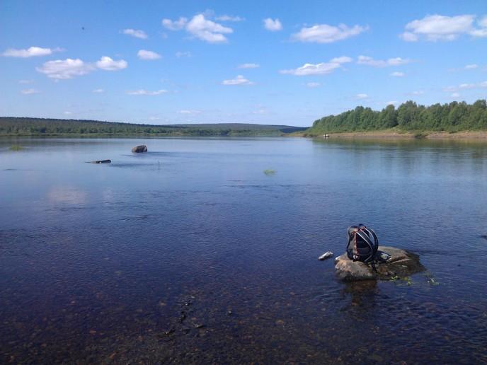 река Поной лагерь Пача