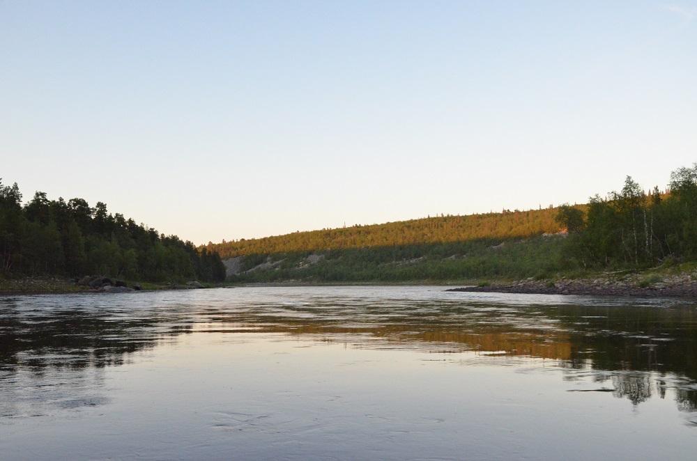 рыбалка на Поное лагерь Пача. Участок для ловли огромный, более 60 километров. начало Жениховского порога