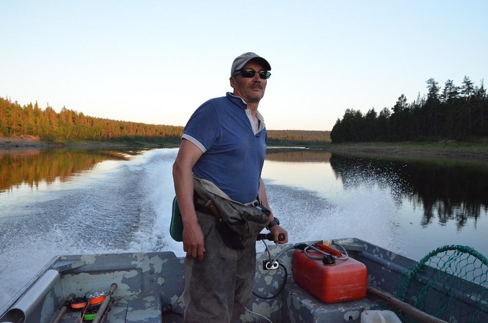 рыбалка на Поное лагерь Пача