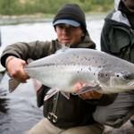 рыбалка на Кольском, реке Поной, лагерь Бревенный