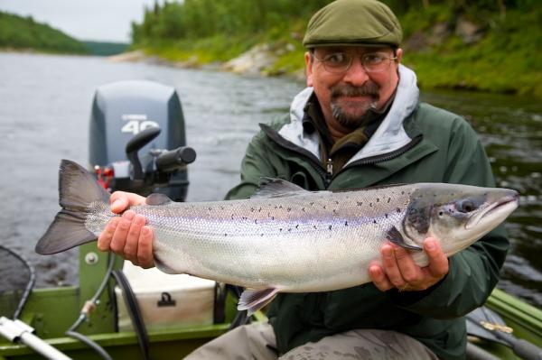 рыбалка на Кольском, реке Поной,