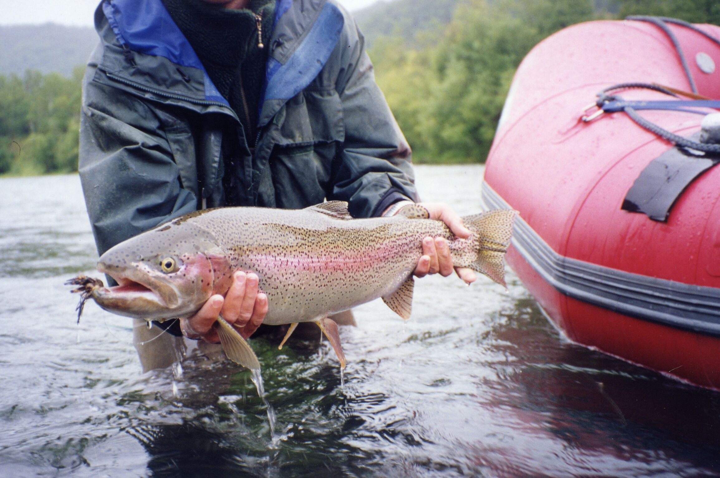 Рыбалка и рыболовные туры Камчатка река Жупанова