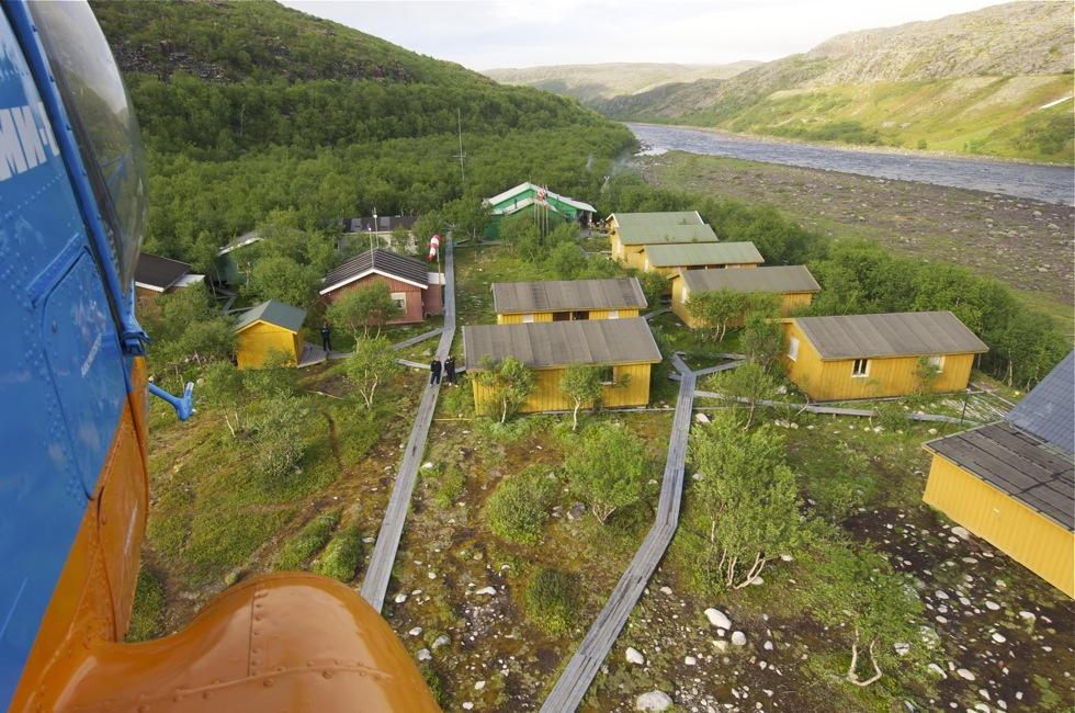 Кольский полуостров лагерь Харловка