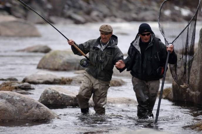 рыбалка и рыболовные туры Кольский полуостров река Восточная Лица