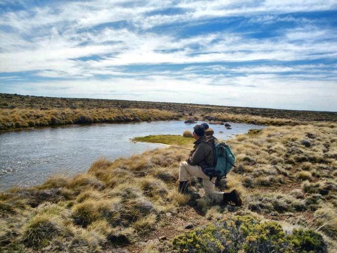 рыбалка в Патагонии, Аргентина