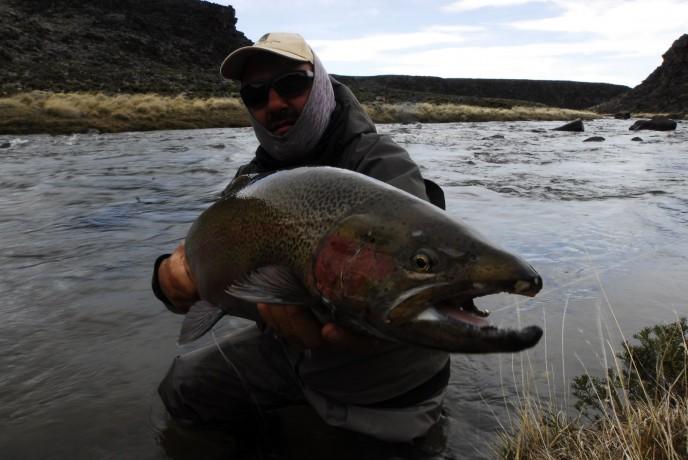 рыбалка в Аргентине, Патагония.