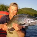 рыбалка на Камчатке, реке Жупанова, лагерь Дзензур