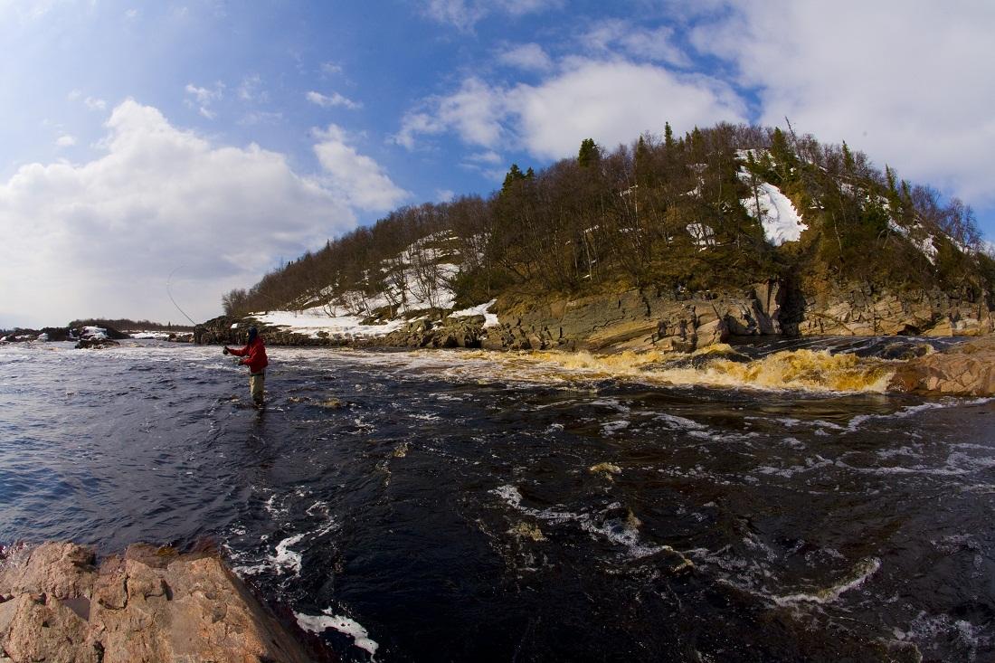 река Стрельна
