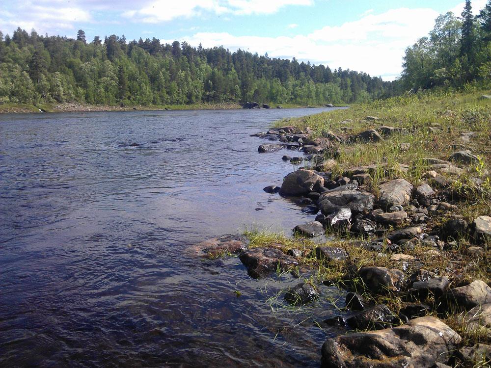 река Поной, лагерь Порог