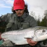 рыбалка на Кольском полуострове, река Кола