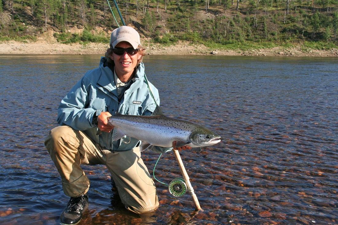 фото с рыбалок на кольском полуострове