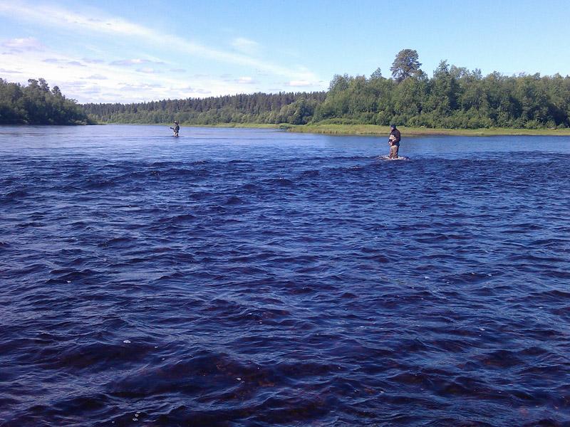 """рыбалка и рыболовные туры на Кольский полуостров, реку Поной, лагерь """"Пача"""""""