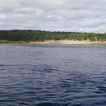 рыбалка на Кольском полуострове реке Поной лагерь Ача