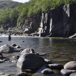 рыбалка на Кольском река Восточная Лица