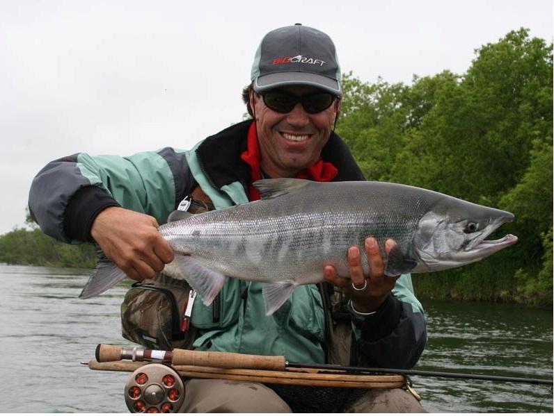 рыбалка на Камчатке реке Большая