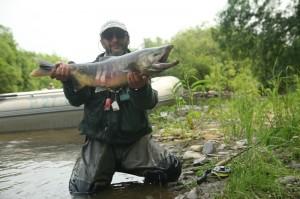 рыбалка на Камчатке, река Большая Воровская