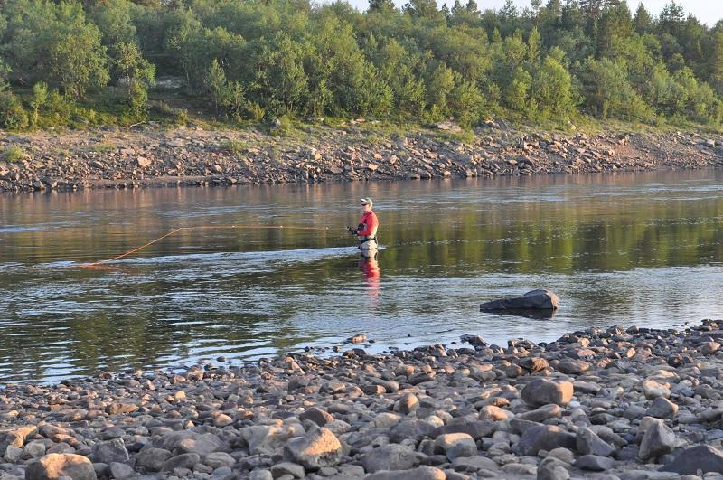 река Поной лагерь Ача лето 2013-2