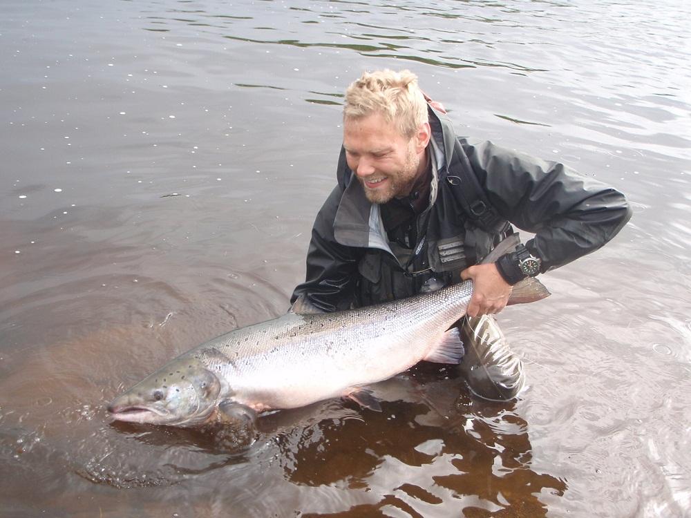 рыбалка на Йоканьге