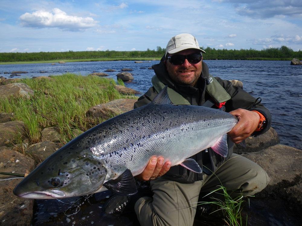 рыбалка на реке йоканьга мурманской области