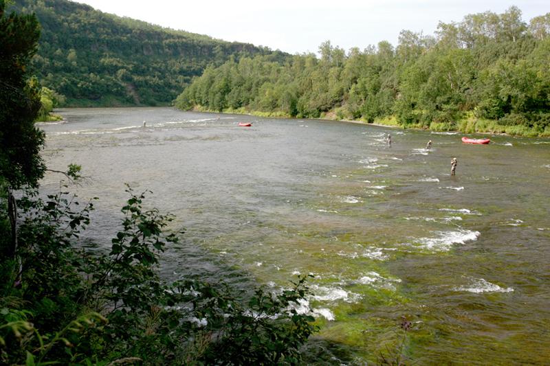 Рыбалка на Камчатке, реке Жупанова