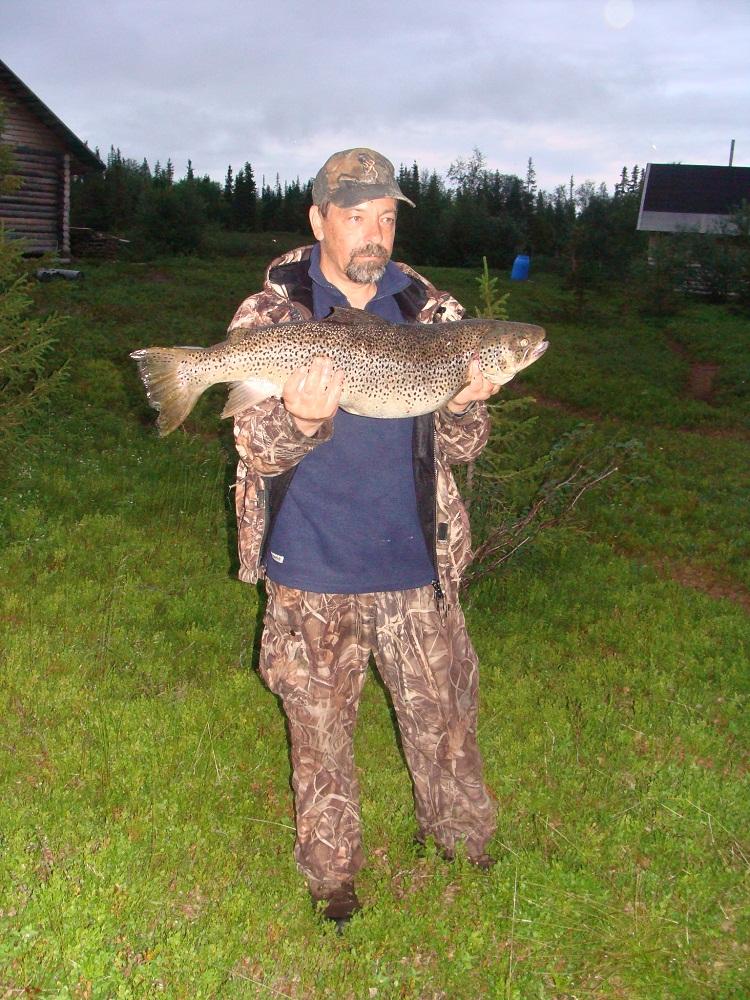 Рыбалка на Кольском полуострове, Ловозеро.