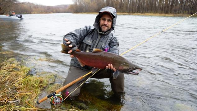 Рыбалка на Камчатке, реке Ича