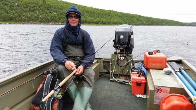 рыболовная база рябога