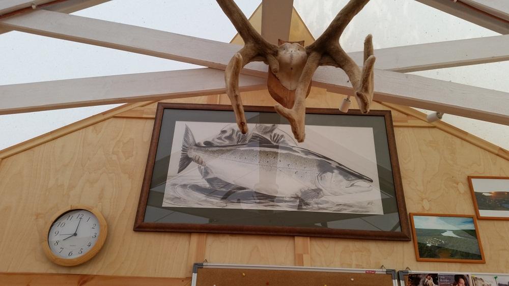 рыбалка на Поное. Рябога 44