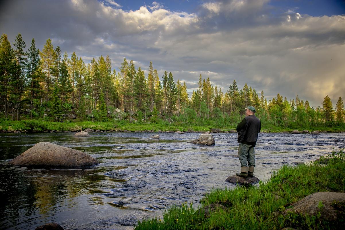 рыбалка на реке Кола