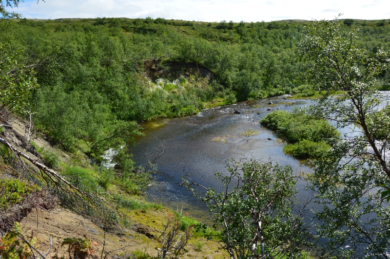 Рыбалка на Кольском полуострове, реке Белоусиха 11