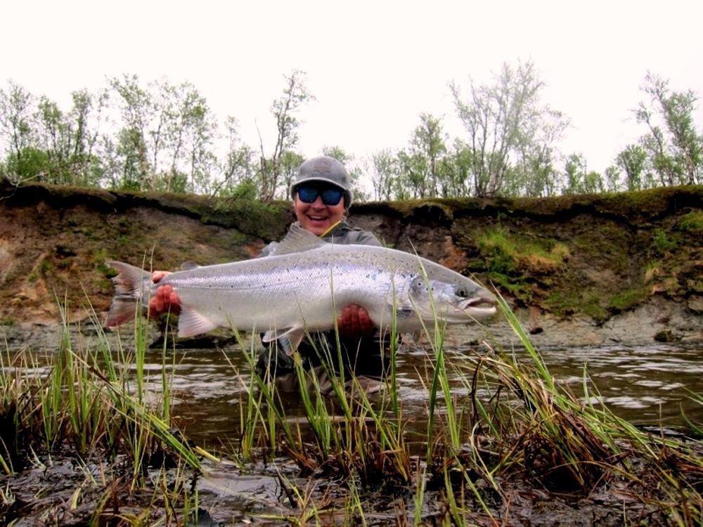 Рыбалка на Кольском полуострове, реке Белоусиха 14