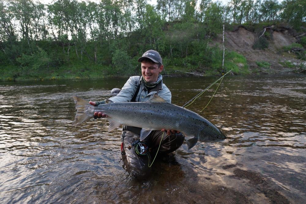 Рыбалка на Кольском полуострове, реке Белоусиха 17