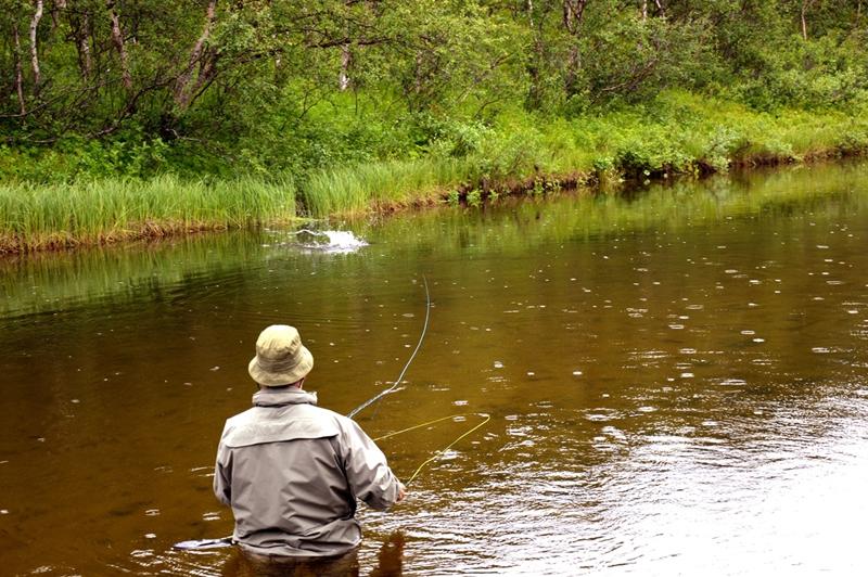 Рыбалка на Кольском полуострове, реке Белоусиха 18