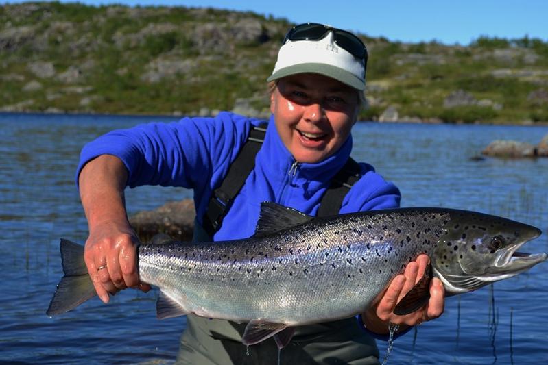 Рыбалка на Кольском полуострове, реке Белоусиха 19