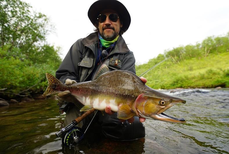 Рыбалка на Кольском полуострове, реке Белоусиха 21