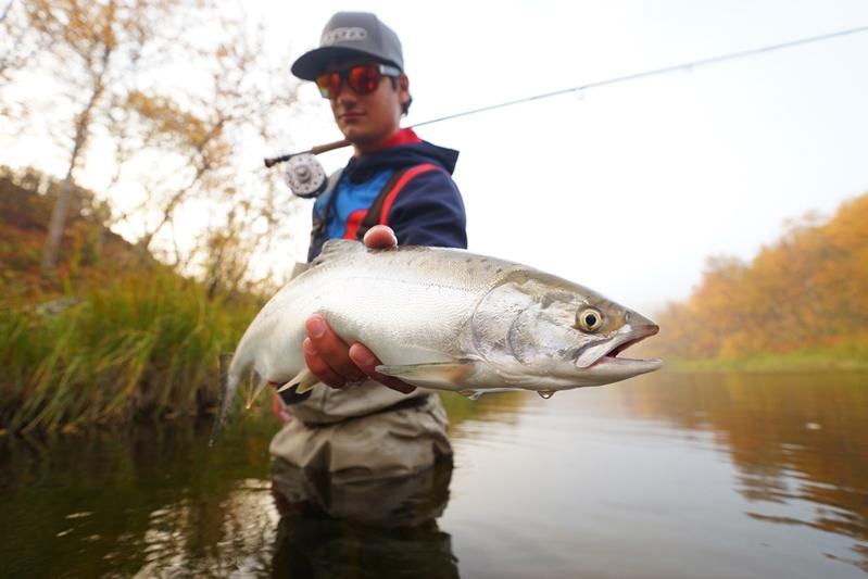 Рыбалка на Кольском полуострове, реке Белоусиха 24