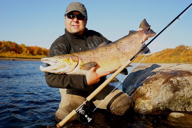 Рыбалка на Кольском полуострове, реке Белоусиха 25
