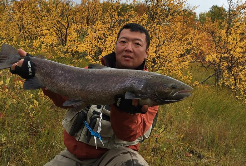 Рыбалка на Кольском полуострове, реке Белоусиха 27