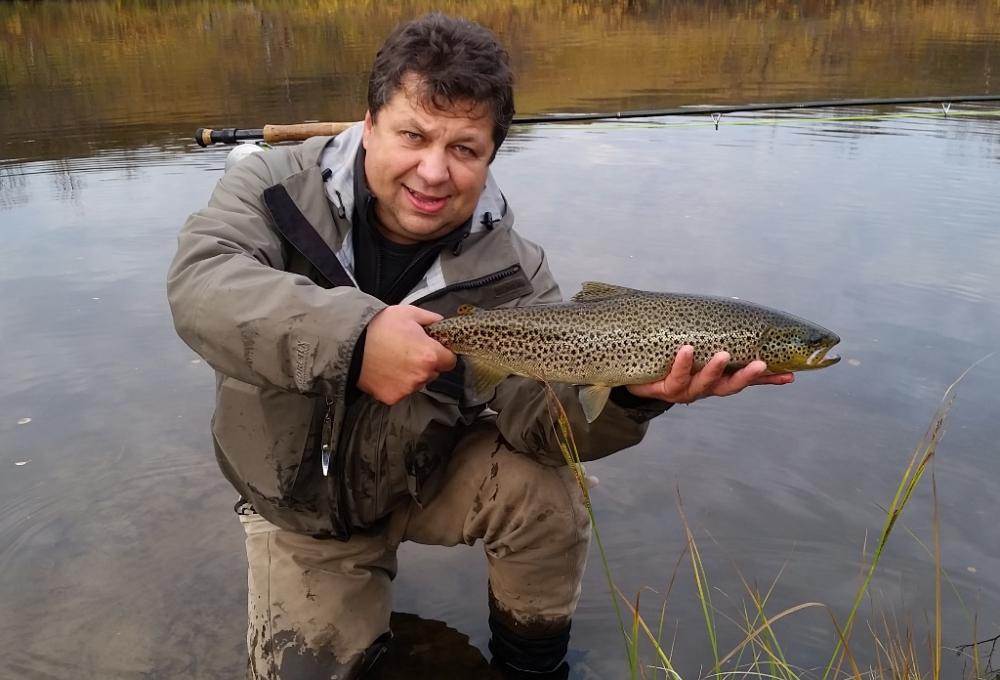 Рыбалка на Кольском полуострове, реке Белоусиха 28