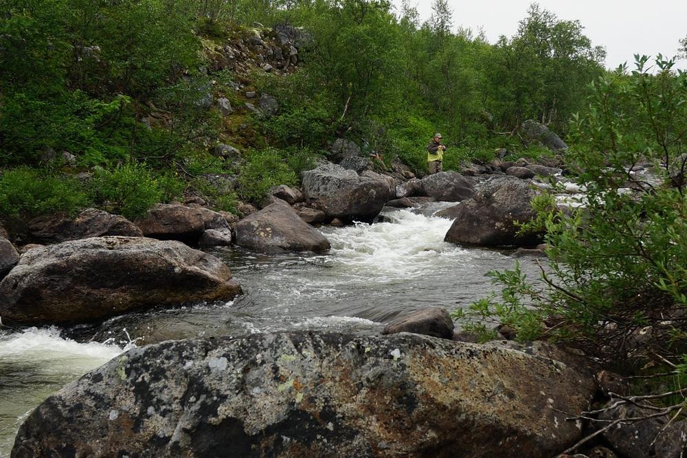 река Белоусиха каньон. рыбалка