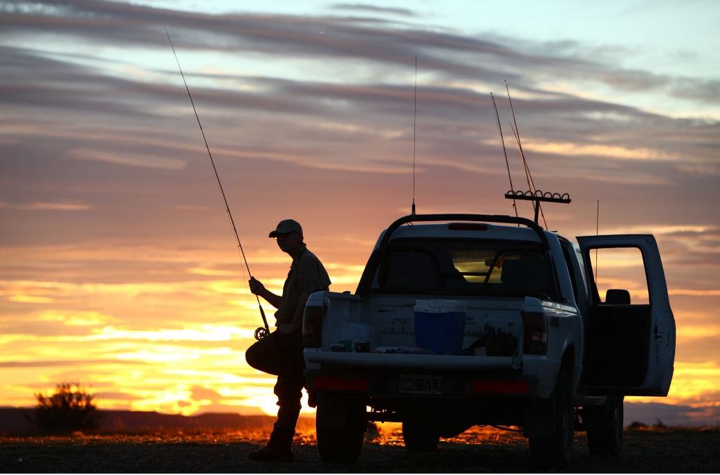 рыбалка в Аргентине. Рыбалка Рио-Гальегос.