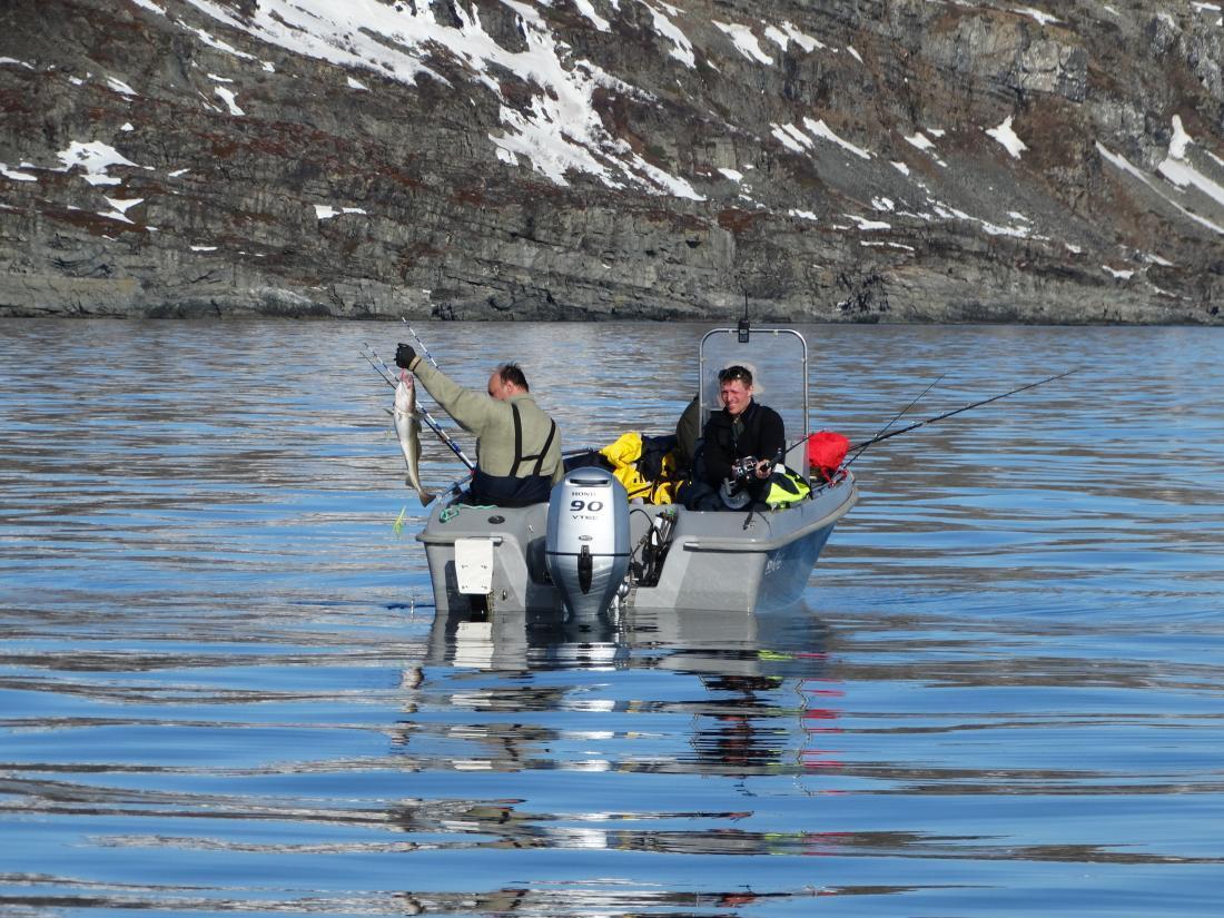 Рыбалка на Кольском полуострове реке Титовка.
