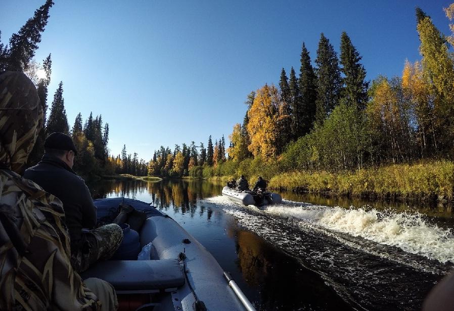 Рыбалка в Архангельской области.